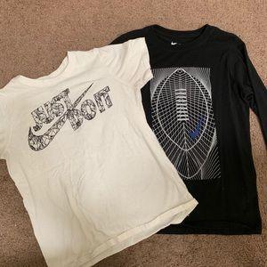 2 Boy Nike shirts